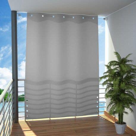 terrasse vorhang variable trennwand f 252 r balkon oder terrasse als