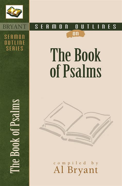sermon books sermon outlines on the book of psalms kregel