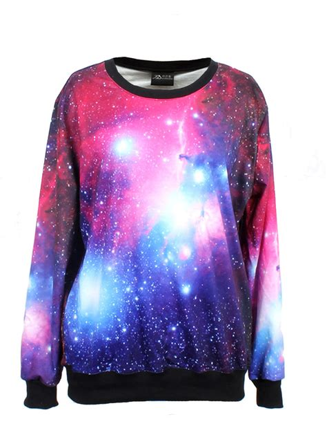 purple starry space galaxy print sleeve