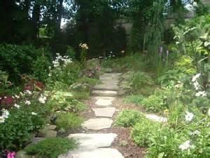 rock garden ideas stone photograph natural stone walkway