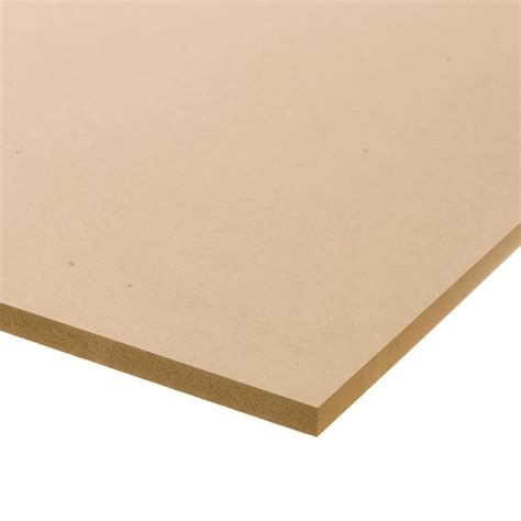 for sale mdf board lowes shop medium density mdf actual 0 5 in x 24 in x 4 ft at