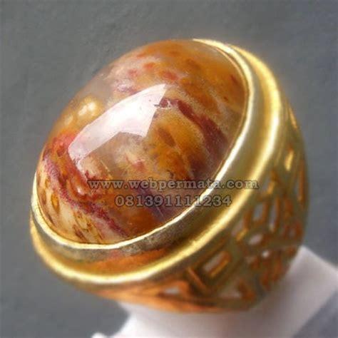 Batu Akik Pancawarna Gelang Kulit merah batu permata cincin fosil pancawarna antik