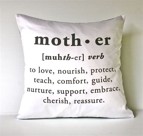 decorative goods definition 16 x 16 inch mother cushion decorative pillow eco friendly