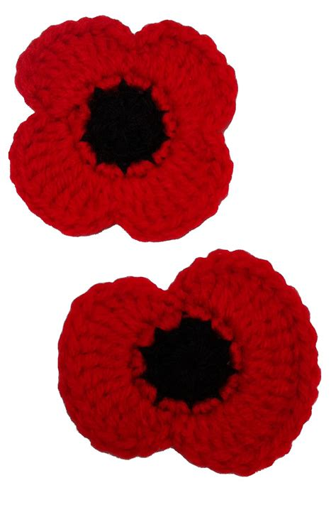 free pattern for knitted poppies free crochet pattern remembrance poppies apliciones y