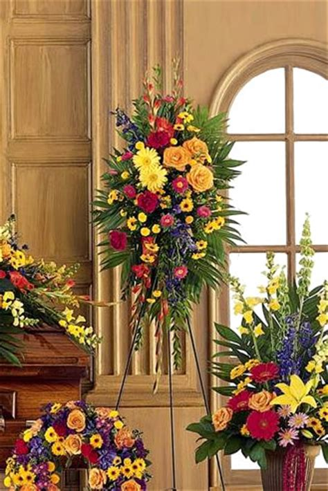 flower arrangements cremations tranquility burial