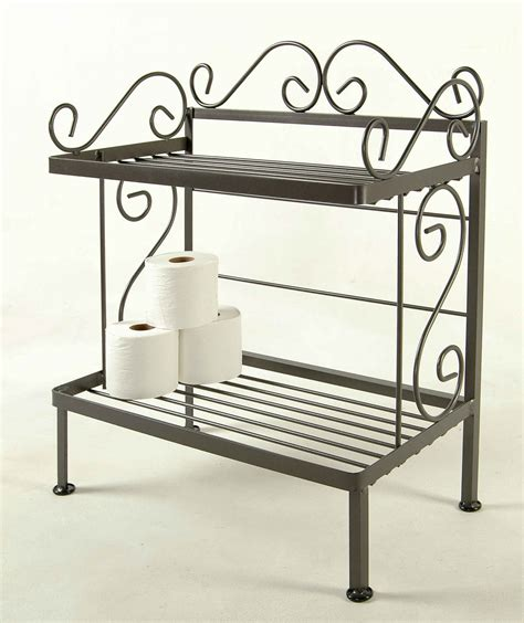 Bathroom Rack Shelf by Grace Bathroom Storage Racks For Towels And Bath Room Tissue