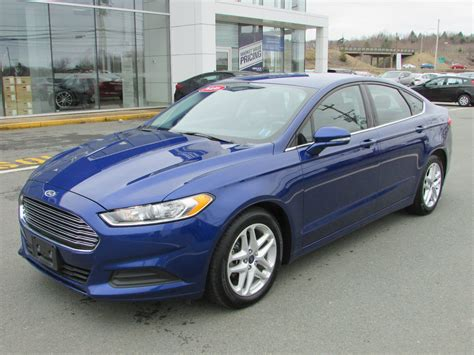 Ford Fusion 2016 by Used 2016 Ford Fusion Se 2 5l 4 Cyl Automatic Fwd 4d Sedan