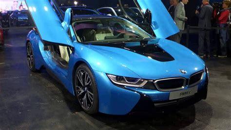 blue bmw i8 protonic blue bmw i8 concept