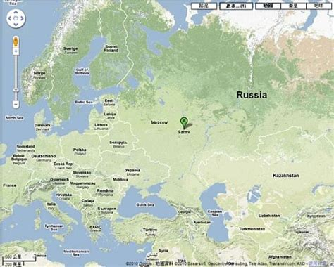 Russia Google by Radiation