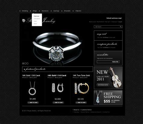 black themed websites jewelry magento theme 33490