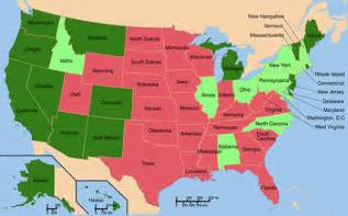 United States Of America Usa Fastis 2018 6 Next States Predicted To Legalize By 2018