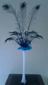 peacock feather centerpieces peacock feather centerpiece kits for sale in usa