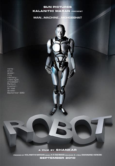 film robot video chennai365 robot movie poster chennai365