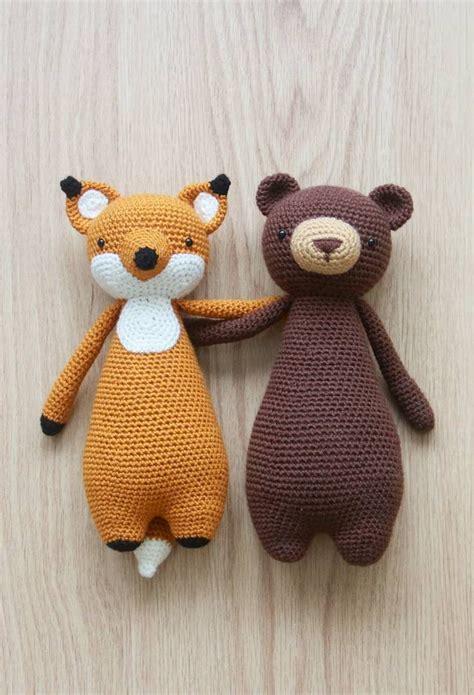 pattern crochet animal crochet patterns by little bear crochets www