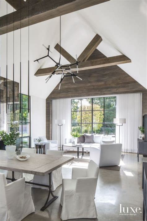 rustic contemporary rustic modern greige design