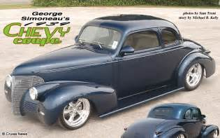 george simoneau s 1939 chevy coupe feature