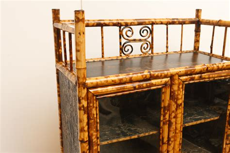english antique bamboo cabinet with laquer top on english antique bamboo cabinet with laquer top on