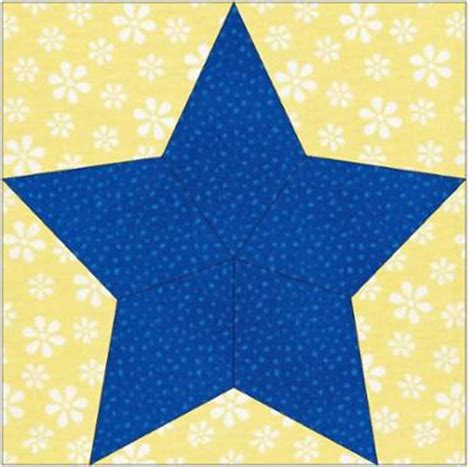 Five Pointed Quilt Pattern by 5 Pointed Paper Piecing Craftsy