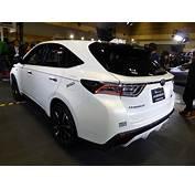 Osaka Auto Messe 2014 219 Toyota HARRIER G SPORTS