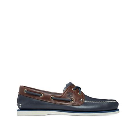timberland boat shoes vintage timberland boat shoe in vintage indigo two tone parkinsons