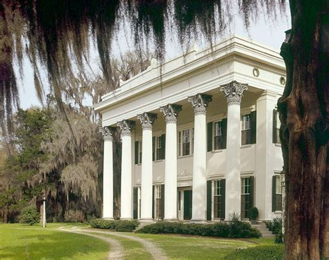 House Plans Country Style Millford Plantation Greek Revival Historic Details