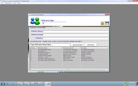 simple visual basic inventory system software inventory system free source code tutorials