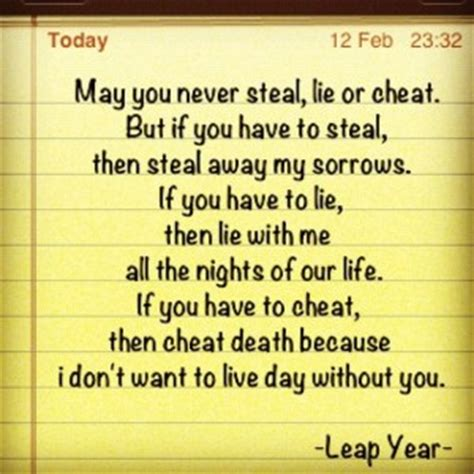 Wedding Blessing From Leap Year by Leap Year Quotes And Sayings Quotesgram