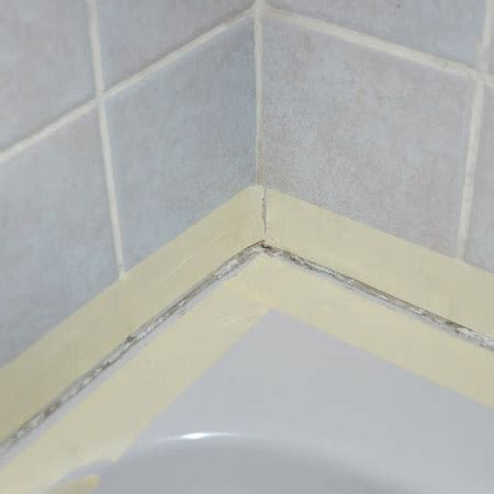 sealing a bathtub home dzine home diy how to seal around bath tub or basin