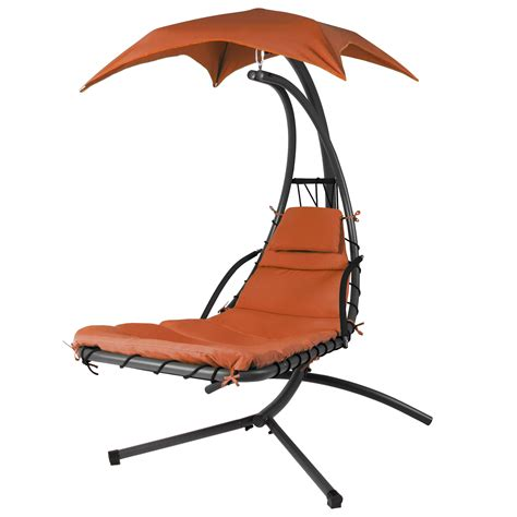 umbrella swing chair hanging chaise lounger chair arc stand air porch swing