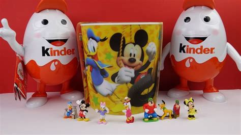 mickey mouse surprise eggs play toys kinder chocolate 45 best images about kinder surprise eggs on pinterest