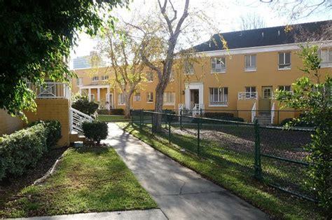 Garden Apartments Park La Park La Los Angeles Conservancy
