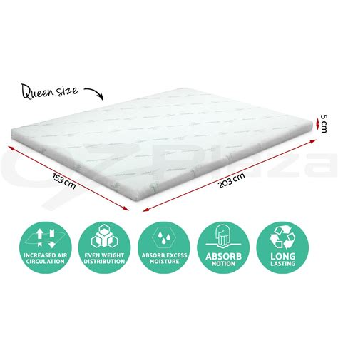 home design 5 zone memory foam mattress pad 100 home design 5 zone memory foam mattress pad