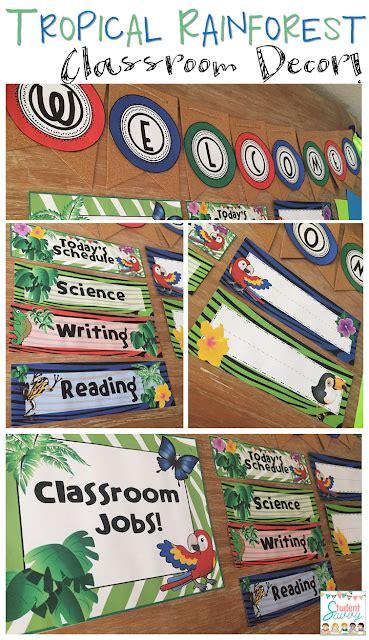 theme classroom names studentsavvy rainforest classroom decor teacher sock