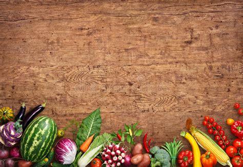 Fondo Sano Del Alimento Foto Del Estudio De Diversas