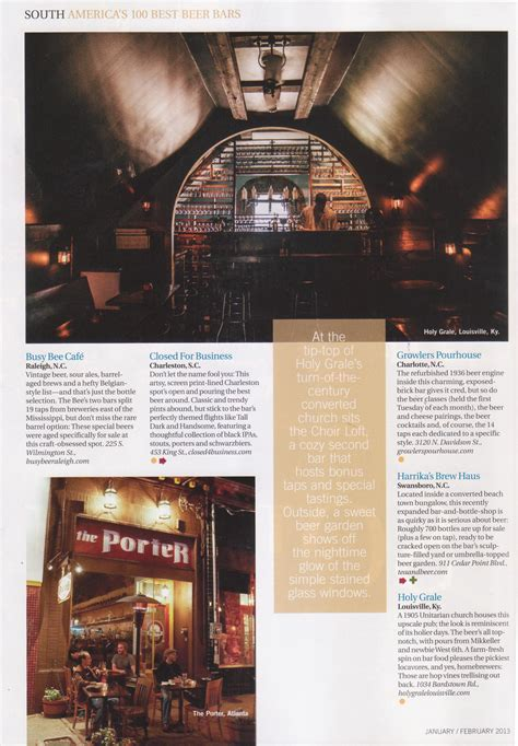 top 100 beer bars the porter beer bar draft magazine top 100 beer bars