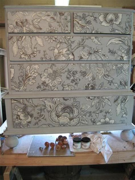 Fabric Decoupage Furniture - best 25 decoupage furniture ideas on how to
