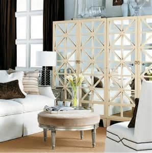 Mirrored Furniture Living Room Mirrored Ottoman Living Room Hickory Chair Furniture Co