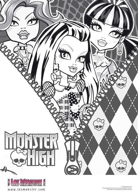 dibujos monster high para colorear draculaura monster high sgblogosfera mar 237 a jos 233 arg 252 eso monster high para colorear
