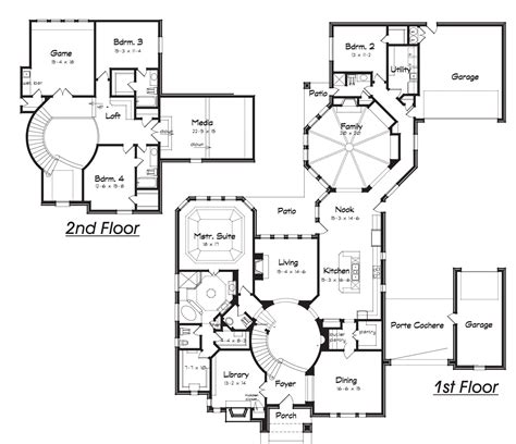 Creative House Plans by House Plans With Rooms Home Decorating Ideas