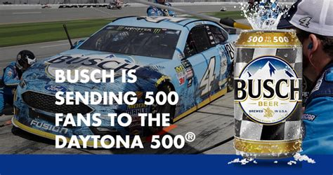 Daytona 500 Sweepstakes - busch light 500 to the daytona 500 contest 2018