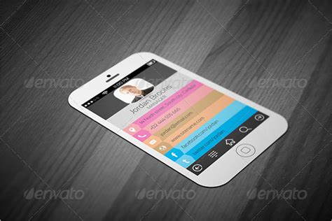 iphone business card template free 20 iphone business card templates free psd designs