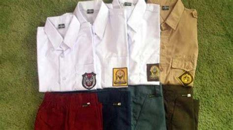 Baju Seragam Sd Negeri Siswa Sd Dan Smp Negeri Di Badung Dapat Seragam Gratis