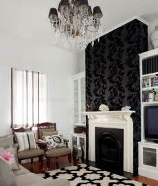 living room fireplace background feature wall using