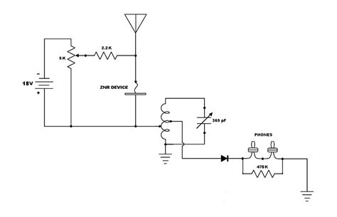 tunnel diode radio negative resistance
