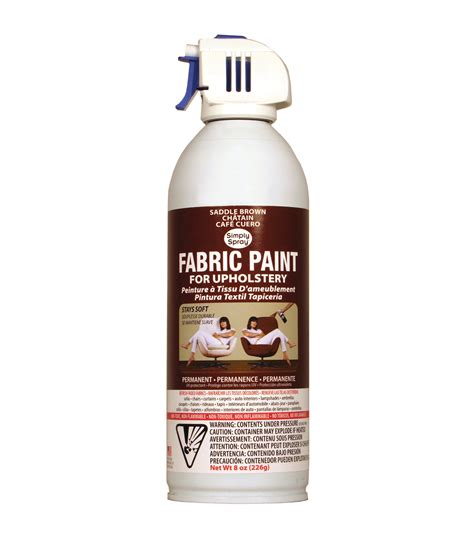 fabric spray paint upholstery upholstery spray fabric paint 8oz saddle brown jo ann