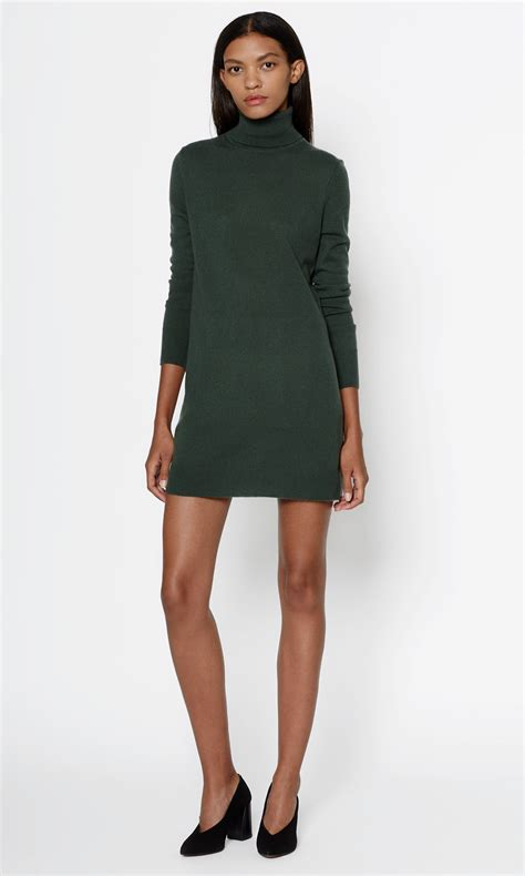 Dress Turtle V Neck s oscar turtleneck dress made of s clothing and accessories by