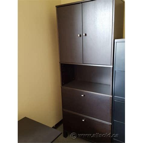 espresso lateral file cabinet ikea effektiv espresso 2 drawer lateral file cabinet w