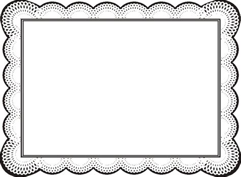 free printable certificate border templates free border design templates clipart best