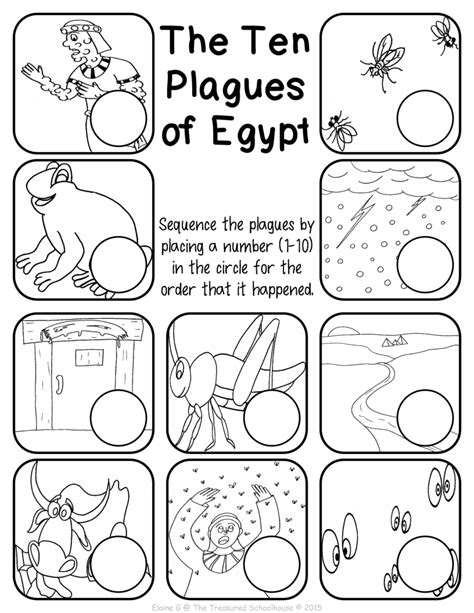 the ten plagues of egypt worksheet pack lesson plan