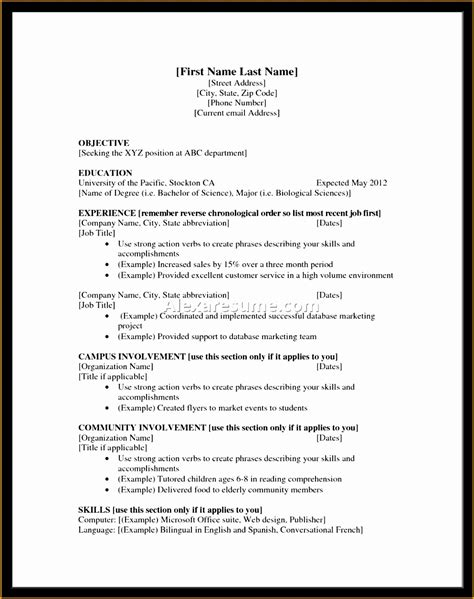 Education Section Resume by 6 High School Student Resume Free Sles Exles